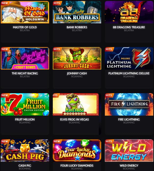 7bit casino game